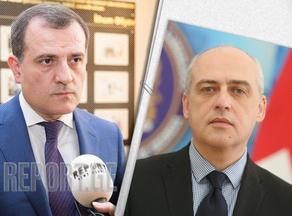 Jeyhun Bairamov congratulates Davit Zalkaliani on reappointment