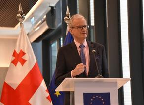 EU Mediator Danielsson in Tbilisi, says time to compromise'