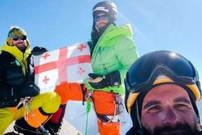 Georgian climbers summit two mountains in Pakistan