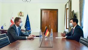 Арчил Талаквадзе встретился с Хубертом Книршем