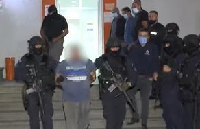МВД опубликовало кадры задержания нападавшего на филиал Банка Грузии в Кварели - ВИДЕО