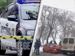 მარნეული-თბილისის მაგისტრალზე, ავტოსაგზაო შემთხვევა მოხდა