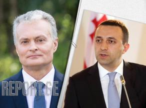 Irakli Gharibashvili: I had a very productive meeting with Gitanas Nauseda