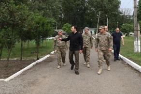 თავდაცვის მინისტრი სამცხე-ჯავახეთში საბრძოლო მომზადების ცენტრს ესტუმრა - VIDEO