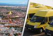 В Тбилиси протестуют водители желтых микроавтобусов