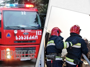Tbilisi fire extinguished