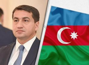 Cluster bombs fired by Armenians target as many victims as possible, Hikmet Hajiyev says