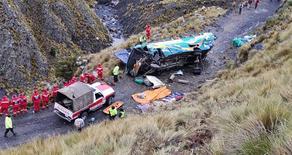 ბოლივიაში ავარიას 14 ადამიანი ემსხვერპლა