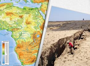 მეცნიერების ვარაუდით, აფრიკის კონტინენტი რამდენიმე ნაწილად გაიყოფა