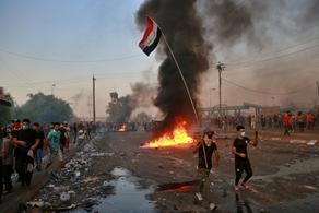 ერაყში საპროტესტო აქციებზე დაღუპულთა რიცხვი 44-მდე გაიზარდა