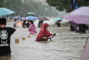 ჩინეთში წყალდიდობას სულ მცირე 58 ადამიანი ემსხვერპლა
