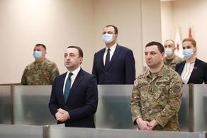 Министр обороны поздравил грузинских миротворцев с Новым годом