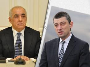 Премьер-министр Азербайджана направил Георгию Гахария письмо