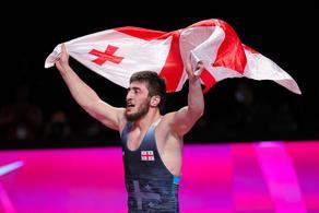 Грузинские борцы стали чемпионами Европы