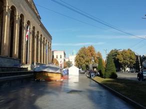 Ситуация на проспекте Руставели  - ФОТО