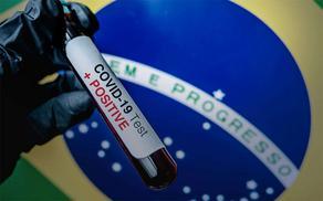 В Бразилии за сутки зафиксированы 26 928 случаев COVID-19