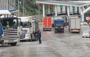 Freight turnover follows protocol on Georgia-Azerbaijan border
