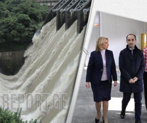 ქართველმა მინისტრებმა ევროკავშირის ენერგეტიკულ გაერთიანებას ნამახვანიჰესის დისკუსიაში ჩართვა სთხოვეს