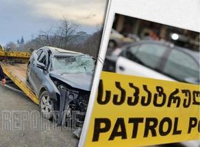 На дороге Гори-Меджврисхеви произошло ДТП