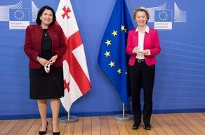 Саломе Зурабишвили встретилась с президентом Еврокомиссии
