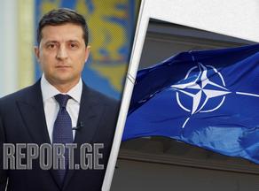 დონბასში კონფლიქტის დასრულების ერთადერთი გზა NATO-ში გაწევრიანებაა - ზელენსკი