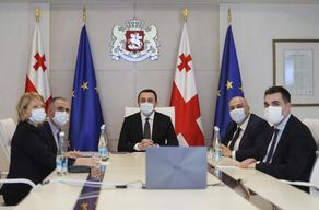 მთავრობამ EIB-ის ვიცე-პრეზიდენტთან განვითარების ათწლიანი გეგმა განიხილა