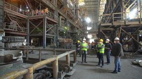როგორ მუშაობს ზესტაფონის ფეროშენადნობთა ქარხანა