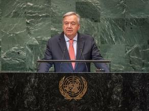 U.N. Secretary-General calls on the world leaders for equality