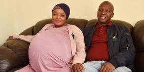 Южноафриканка родила 10 детей