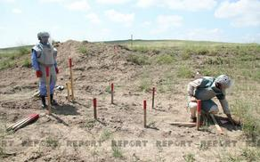 Another 107 mines discovered in the liberated territories of Azerbaijan