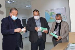 Центр по контролю над заболеваниями Имерети получил 10 тыс. масок