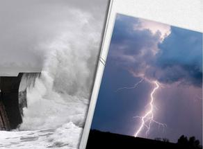 Rain, hail, thunderstorms and 3-magnitude storm at sea - weather will get worse