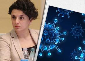 У Натии Мезвришвили подтвержден коронавирус