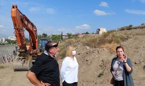 Анна Долидзе опростестовала незаконное строительство на горе Элиа