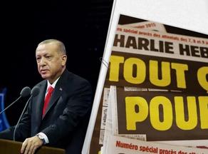 ერდოღანმა Charlie Hebdo-ს უჩივლა