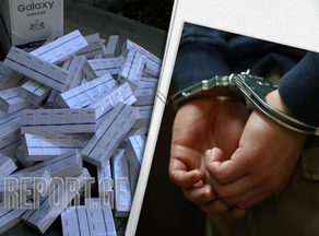 One person arrested for storing and transporting large amount of excise-free cigarettes