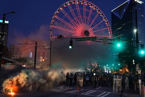 Минимум 70 человек арестованы в Атланте